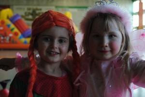 Pippi Langstrumpf und die Prinzessin trafen sich auch beim SC