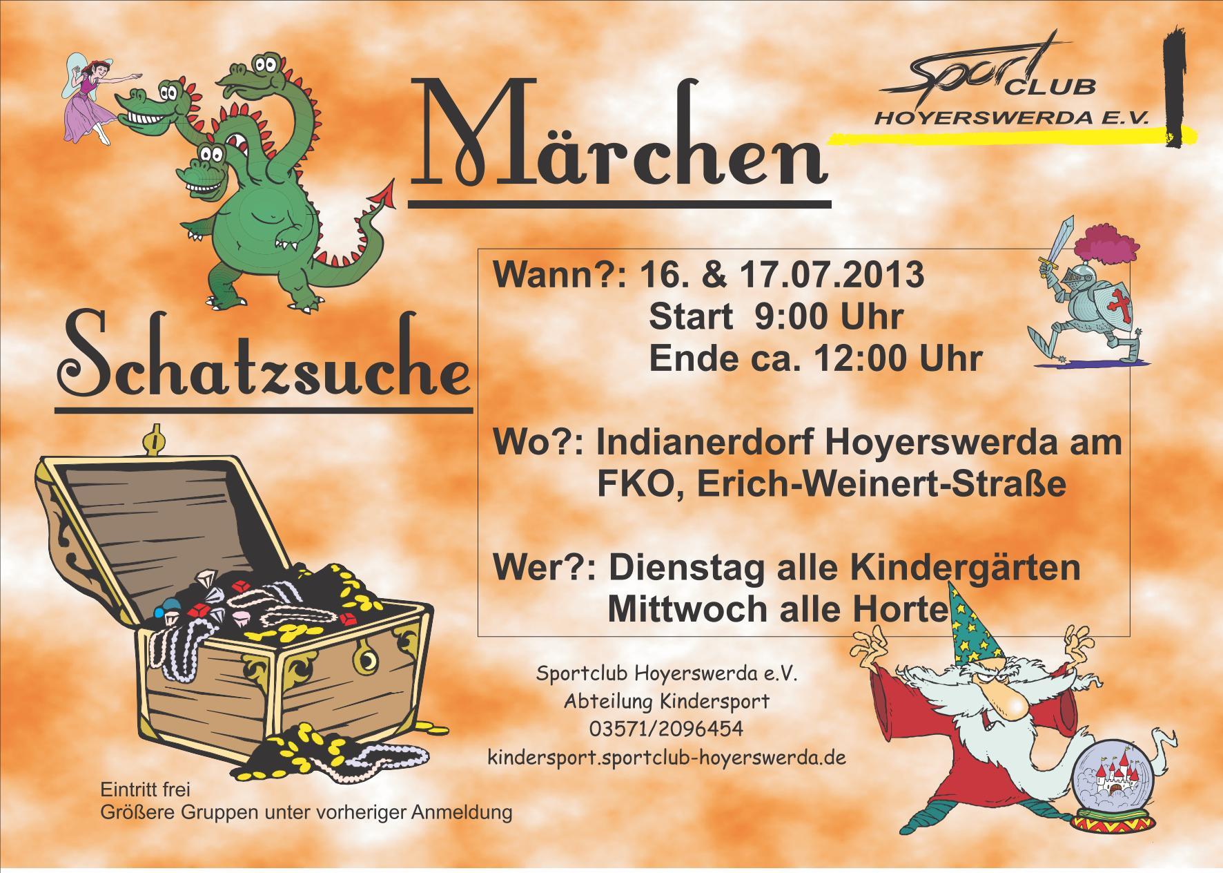Märchen-Schatzsuche