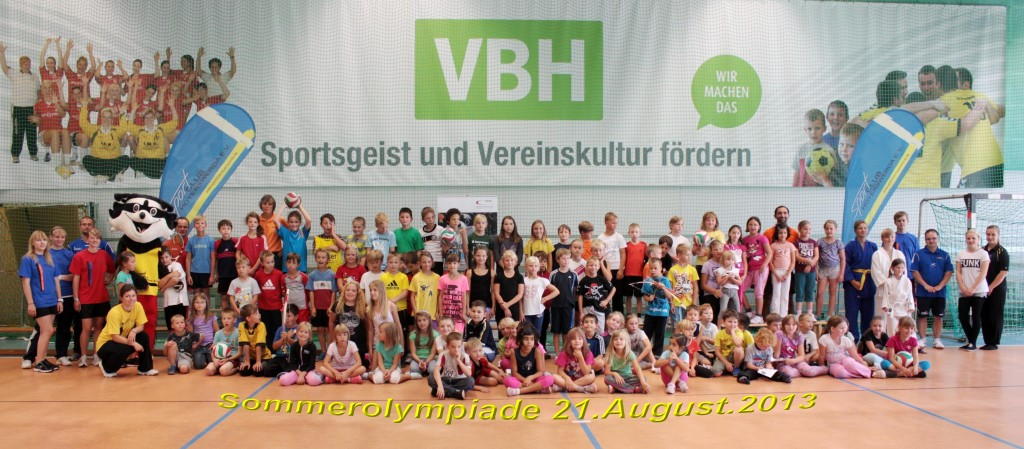 Sommerolympiade.21.8.2013